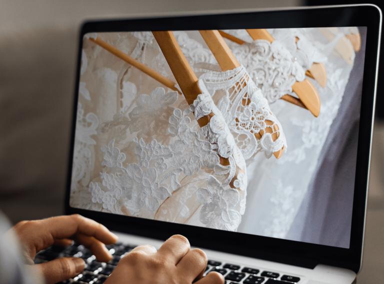 Vestido de noiva: alugar ou comprar pela internet